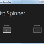 List Spinner JMetro dark theme for Java (JavaFX). Inspired by Microsoft Fluent Design System.
